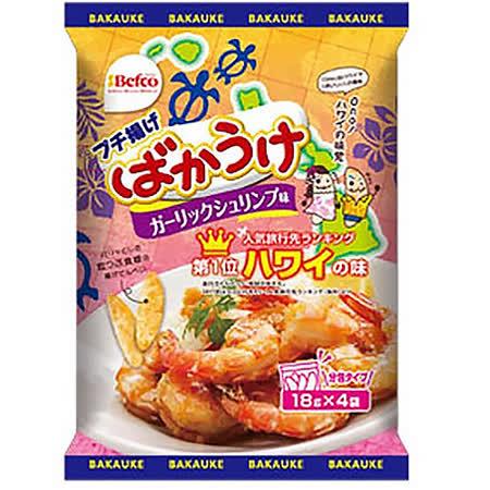 日本栗山 香蒜蝦味米果72g