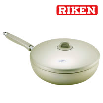 《RIKEN》理研28cm 不沾平底鍋(LO-28F)