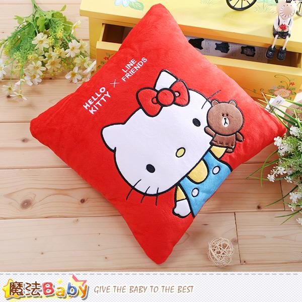 魔法Baby 抱枕 Hello kitty授權正版抱枕 c0155