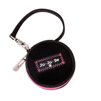 【美國Ju-Ju-Be媽媽包】Paci-pod奶嘴包-Black/Pink
