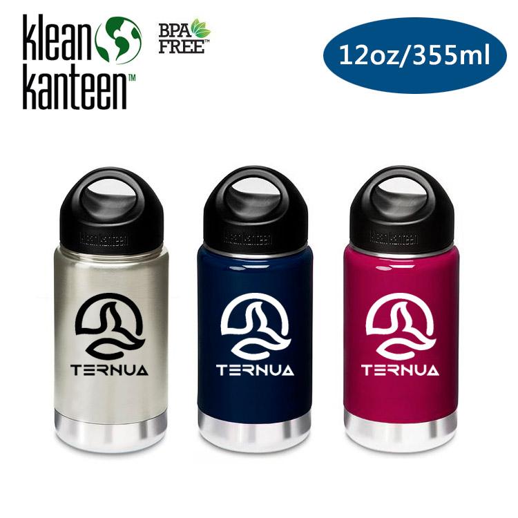 Klean Kanteen 保溫鋼瓶 K12VWSSL Ternua聯名款  12oz355ml  城市綠洲  水壺、水瓶、自行車水壺、不銹鋼瓶、 水壺