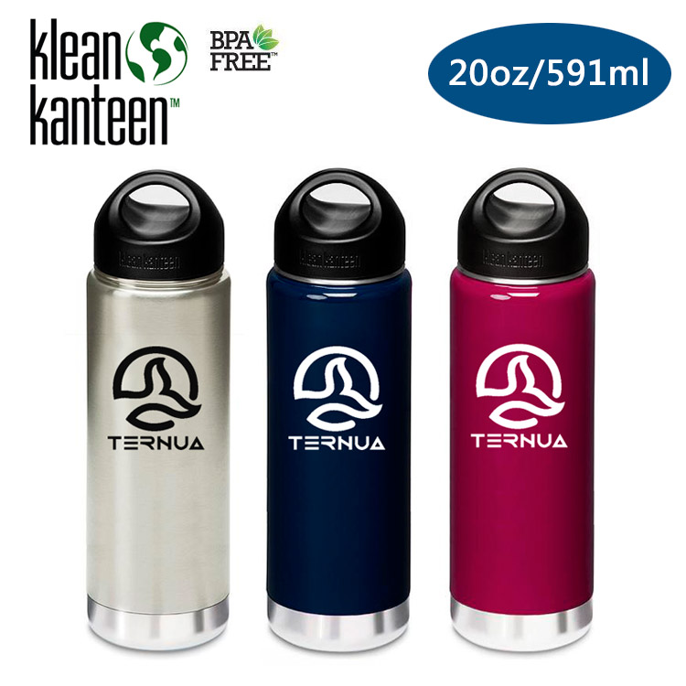 Klean Kanteen 保溫鋼瓶 K20VWSSL Ternua聯名款  20oz591ml  城市綠洲  水壺、水瓶、自行車水壺、不銹鋼瓶、 水壺