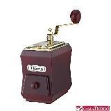 Tiamo 1257義式手搖磨豆機(鈦金款)(紅木色) HG6124PH
