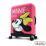 Disney 迪士尼Minnie彈性箱套-少女夢想(L)