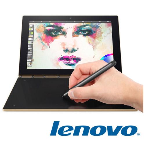 Lenovo Yoga book 10.1吋 FHD Z8550/4G/64G/WIN 10 金 超薄二合一平板電腦 贈 專用清潔組、觸控筆、OTG 線