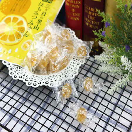 日本甘信堂 蜂蜜柑橘糖80g