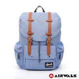 AIRWALK - 英式情人後背包-淺藍