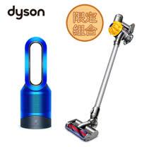 英國 DYSON  HP03 三合一涼暖空氣清淨機+無線手持式吸塵器 V6 SV03組合