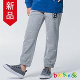 bossini男童-針織束口棉褲02淺灰
