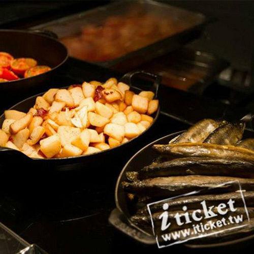 高雄 國賓飯店-MARKET CAFE 味‧集廚房 平日自助午餐券【一套四張】