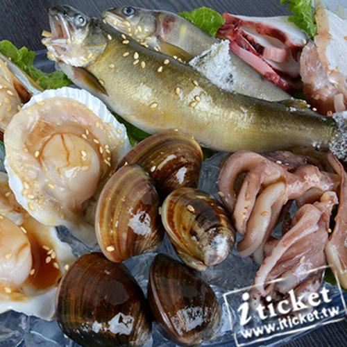 台中可汗燒烤(國光店)-四人燒烤吃到飽套餐優惠餐券