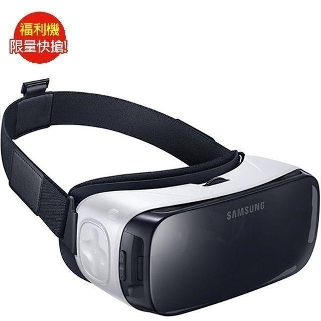 福利品SAMSUNG Gear VR 虛擬實境 穿戴眼鏡_(九成新)