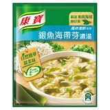 ★超值2件組★康寶濃湯自然原味銀魚海帶芽37g*2