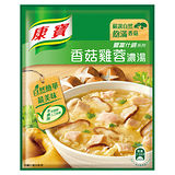★超值2件組★康寶濃湯自然原味香菇雞蓉36.5g*2