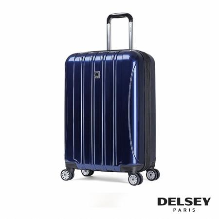 DELSEY HELIUM AERO 28吋萬向輪時尚拉桿箱(藍色)