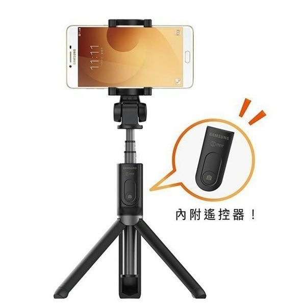 SAMSUNG 三星 藍芽自拍桿 TriPod Selfie Stick 附控制器 ITFIT