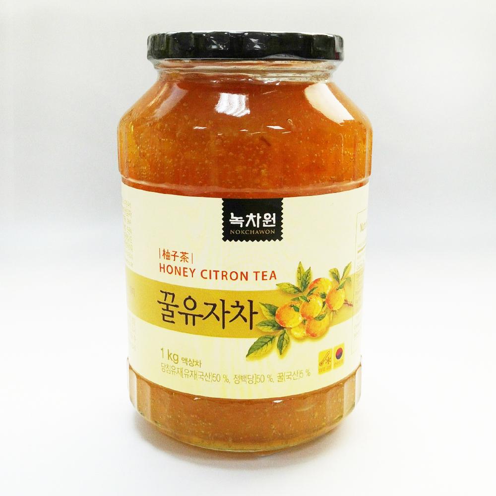 蜂蜜柚子茶 2瓶 (1公斤/瓶)