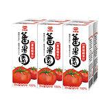 ★買一送一★可果美蕃果園100%蕃茄蘋果汁200ml*6