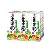 ★買一送一★可果美蕃果園100%綜合蔬果汁200ml*6