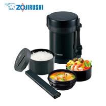 『ZOJIRUSHI』☆ 象印 不鏽鋼真空保溫便當盒(約3碗飯) SL-GH18