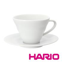 【HARIO】V60白色雲朵咖啡杯盤組 CCS-1W