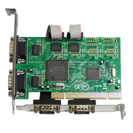 伽利略 PCI RS232 4 port 擴充卡(PTR04A)