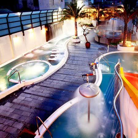【礁溪】冠翔世紀溫泉會館-戶外風呂SPA+風味餐券(2張)