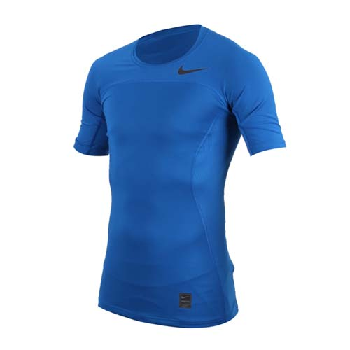 (男) NIKE 短袖針織衫-慢跑 運動 T恤 藍