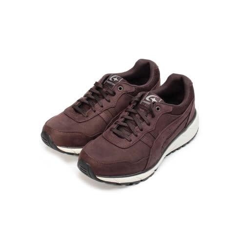 (男) MOONSTAR SUPPLIST 防水防滑休閒休閒鞋 咖紅 男鞋 鞋全家福