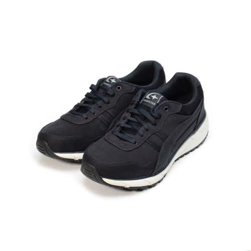 (男) MOONSTAR SUPPLIST 防水防滑休閒休閒鞋 深藍 男鞋 鞋全家福