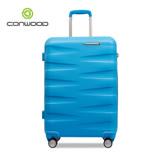 CONWOOD 義大利設計28吋拜耳PC材質輕量霧面行李箱(藍)