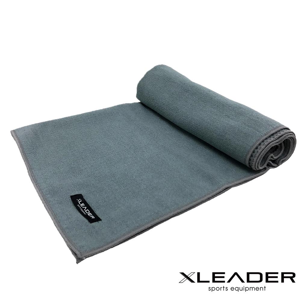 Leader X 超細纖維吸汗止滑瑜珈鋪巾 灰色