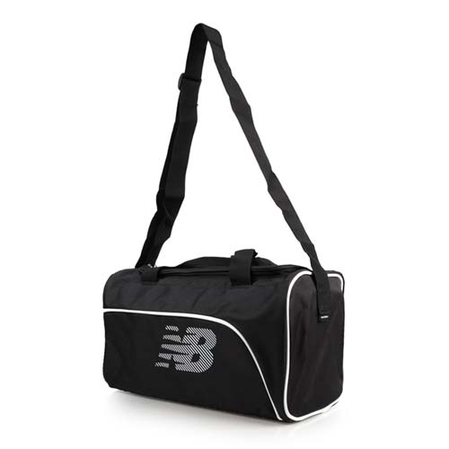 NEWBALANCE 手提包-肩背包 側背包 手提袋 旅行袋 NB 黑白 F