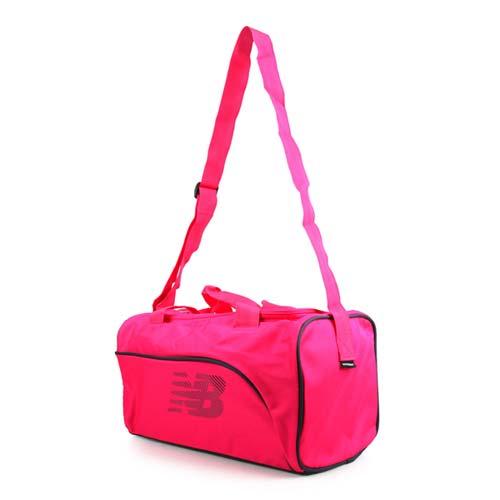NEWBALANCE 手提包-肩背包 側背包 手提袋 旅行袋 NB 桃紅 F