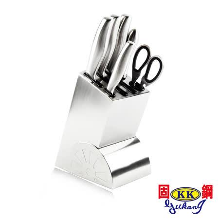 【固鋼】主廚料理系列-不鏽鋼刀具7件組