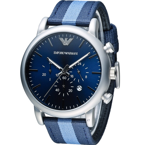 ARMANI 亞曼尼  Classic 英倫簡約風計時腕錶 AR1949