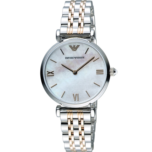 ARMANI 亞曼尼  Ladies 絢麗時尚腕錶 AR1987