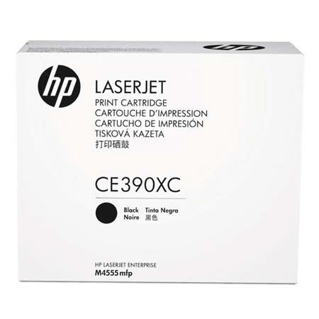 HP CE390XC 原廠黑色高容量碳粉匣