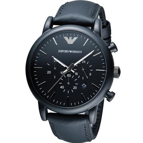 ARMANI 亞曼尼 Classic 英倫簡約風計時腕錶  AR1970