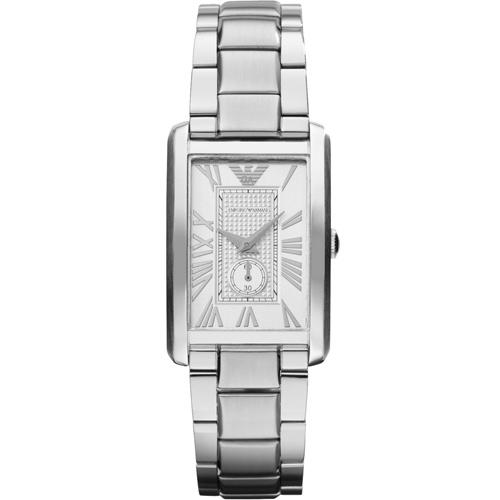 ARMANI 亞曼尼 俐落方形腕錶   AR1639