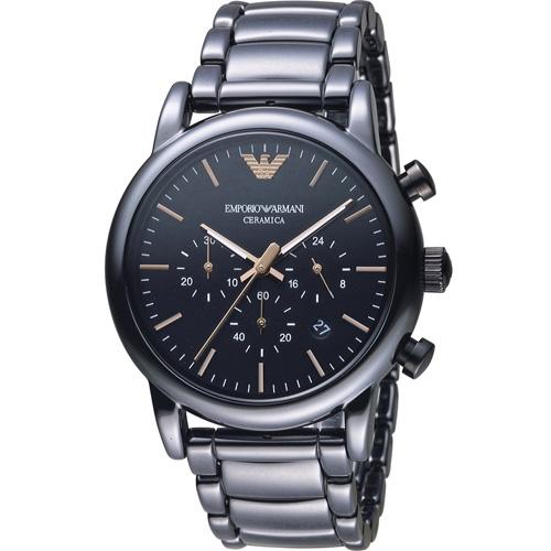 ARMANI 亞曼尼 Classic 英倫簡約風計時腕錶 AR1509