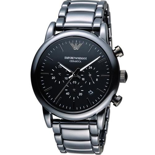 ARMANI 亞曼尼 Classic 經典陶磁時尚腕錶  AR1507