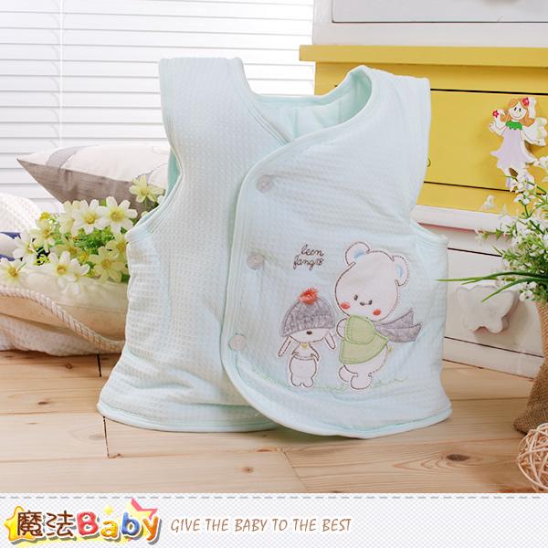 魔法Baby 嬰幼兒外套 專櫃款厚鋪棉極暖背心外套 k60266