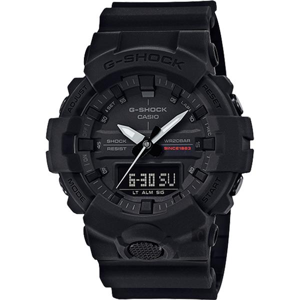 CASIO 卡西歐 G-SHOCK 35周年紀念錶款 宇宙大爆炸雙顯錶 GA-835A-1A
