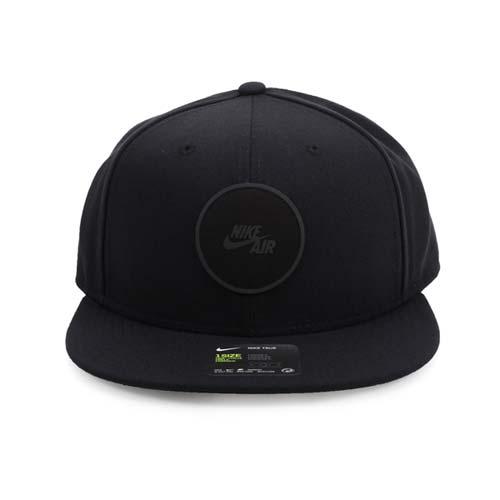 NIKE 運動帽-帽子 鴨舌帽 黑