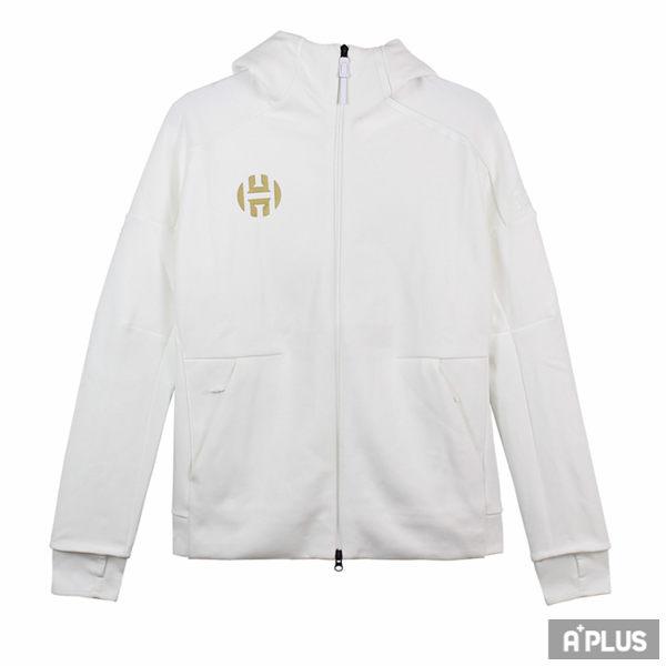 Adidas 男 HRDN ZNE HOODY 愛迪達 棉質--運動外套(連帽)- CW3742
