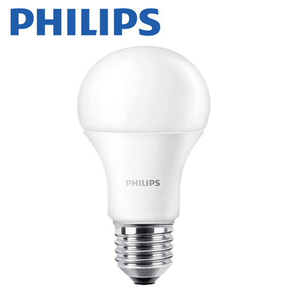 PHILIPS 飛利浦 6.5W 純淨光LED E27 廣角形燈泡 6入組