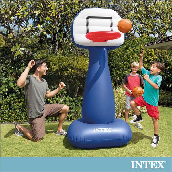 ~INTEX~兒童籃球架充氣玩具 57502