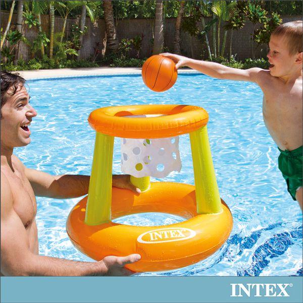 ~INTEX~幼童投籃充氣玩具水上籃球架 58504