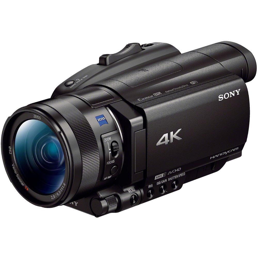 SONY FDR-AX700 高畫質數位攝影機(公司貨)-送原廠鋰電池(FV100)+專用充電器(FV)+蔡司拭鏡紙+保護貼+讀卡機+SONY經典銅牌對杯